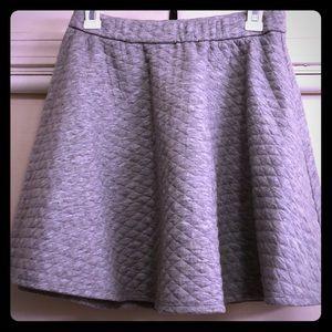 Lauren Conrad gray skirt